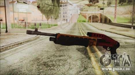 Xmas SPAS-12 für GTA San Andreas
