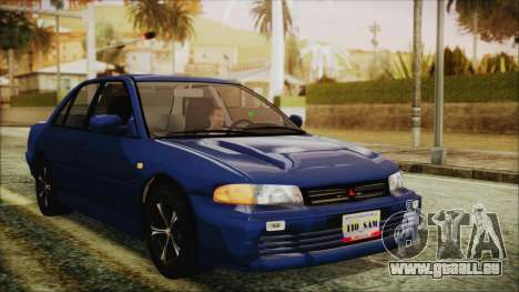 Mitsubishi Lancer 1998 für GTA San Andreas Rückansicht