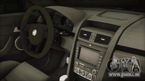 Holden Commodore VE Sportwagon 2012 für GTA San Andreas rechten Ansicht