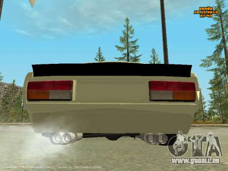 VAZ 2107 Voiture pour GTA San Andreas vue de droite
