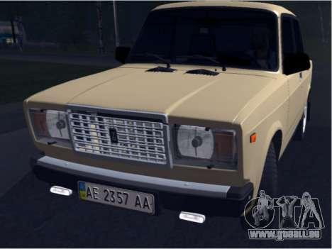 Ваз 21074 Beige Schönheit für GTA San Andreas