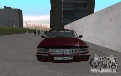 GAZ 31105 für GTA San Andreas linke Ansicht