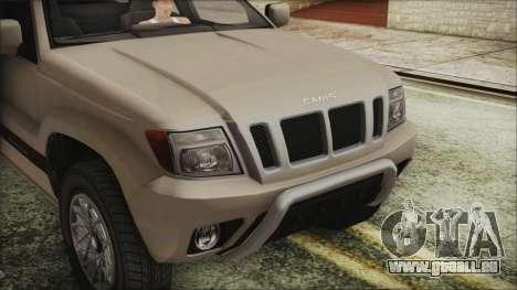 GTA 5 Canis Seminole IVF für GTA San Andreas rechten Ansicht