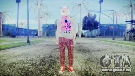 GTA Online Skin 54 pour GTA San Andreas deuxième écran