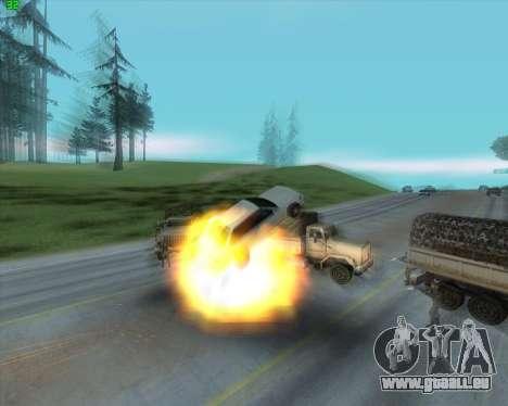 La folie dans l'état de San Andreas v1.0 pour GTA San Andreas