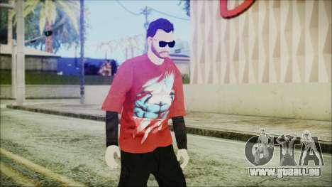 GTA Online Skin 27 pour GTA San Andreas