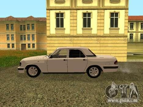 Wolga GAZ 3110 für GTA San Andreas linke Ansicht