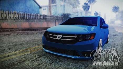 Dacia Logan 2015 pour GTA San Andreas