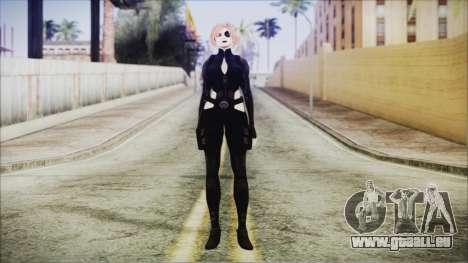 Blonde Domino from Deadpool für GTA San Andreas zweiten Screenshot