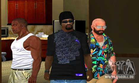 Mens Mega Pack für GTA San Andreas zweiten Screenshot