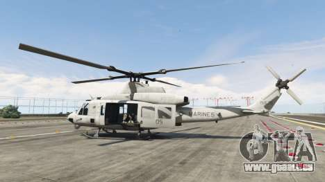 GTA 5 Bell UH-1Y Venom v1.1 zweite Screenshot
