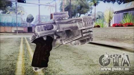 Fallout 4 Heavy 10mm Pistol für GTA San Andreas zweiten Screenshot
