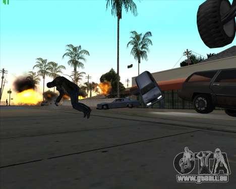 La folie dans l'état de San Andreas v1.0 pour GTA San Andreas quatrième écran