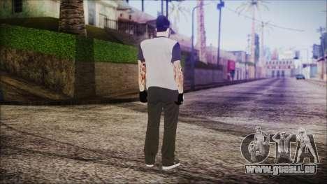 GTA Online Skin 51 pour GTA San Andreas troisième écran
