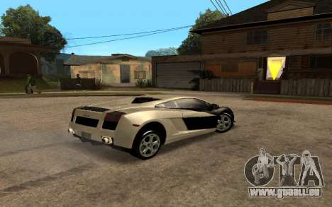 Lamborghini Gallardo Tunable v2 für GTA San Andreas linke Ansicht
