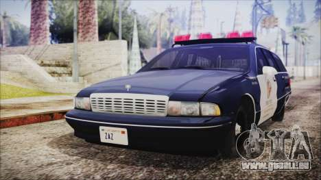 Chevrolet Caprice Station Wagon 1993-1996 LSPD pour GTA San Andreas