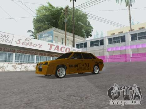 VAZ 21099 Tuning Russian Taxi pour GTA San Andreas