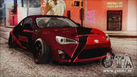 Toyota GT86 Speedhunters pour GTA San Andreas