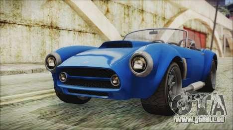 GTA 5 Declasse Mamba für GTA San Andreas