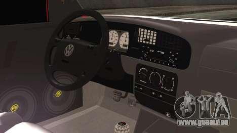 Volkswagen Golf 2 Ghetto Cult pour GTA San Andreas vue de droite