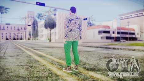 GTA Online Skin 28 pour GTA San Andreas troisième écran