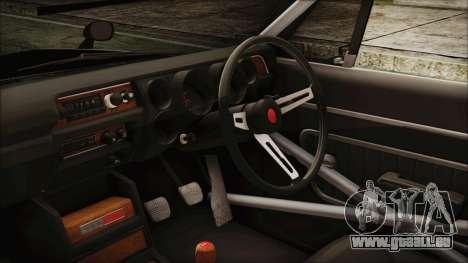 Nissan Skyline GT-R Hakosuka für GTA San Andreas rechten Ansicht