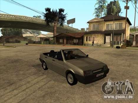 VAZ 21099 Convertible pour GTA San Andreas