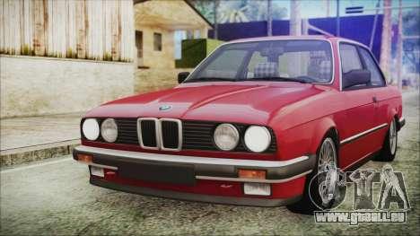 BMW 320i E21 1985 SA Plate für GTA San Andreas