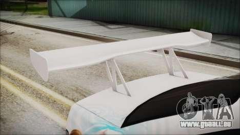 BMW M3 E36 Frozen für GTA San Andreas Rückansicht