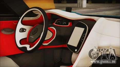 Renault Dezir Concept 2010 v1.0 pour GTA San Andreas vue de droite