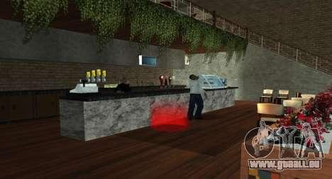 Italian bar Gangstaro in Der Heiligen für GTA San Andreas