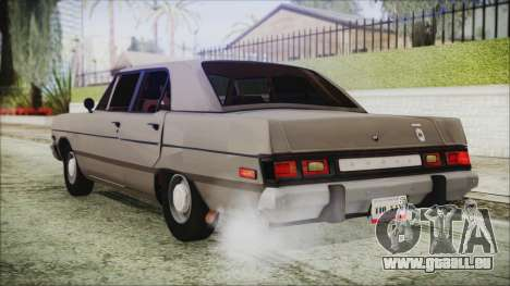 Dodge Dart 1975 pour GTA San Andreas laissé vue
