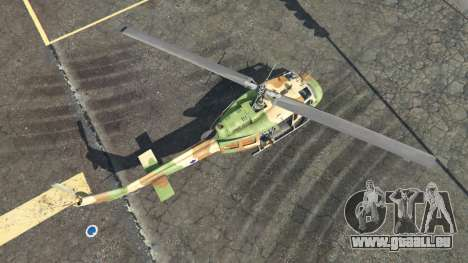 GTA 5 Bell UH-1D Israeli Air Force vierten Screenshot