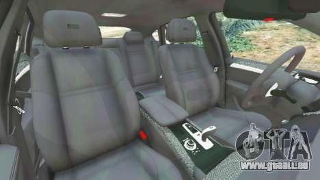 GTA 5 BMW X6 M (E71) v1.5 rechte Seitenansicht
