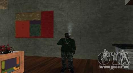 Italian bar Gangstaro in Der Heiligen für GTA San Andreas zweiten Screenshot