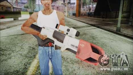 Fallout 4 Focused Institute Rifle pour GTA San Andreas troisième écran