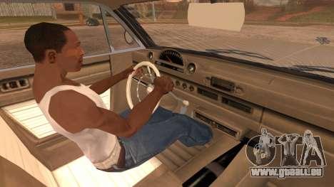 GTA 5 Declasse Clean Voodoo Hydra Version pour GTA San Andreas vue de droite