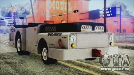 BF3 Push Car für GTA San Andreas rechten Ansicht