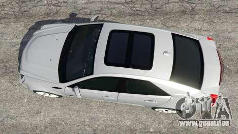 GTA 5 Cadillac CTS-V 2009 vue arrière