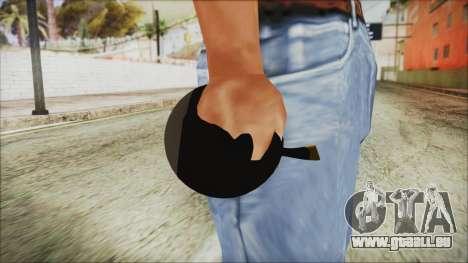 Angry Bird Grenade für GTA San Andreas dritten Screenshot