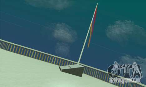 Armenien fahne auf dem mount Chiliad für GTA San Andreas zweiten Screenshot