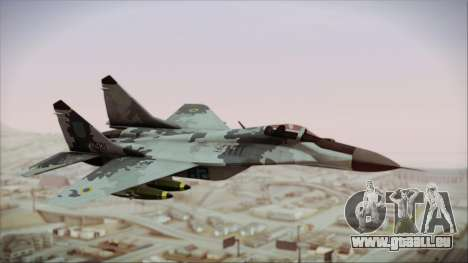 MIG-29 Fulcrum Ukrainian Falcons pour GTA San Andreas
