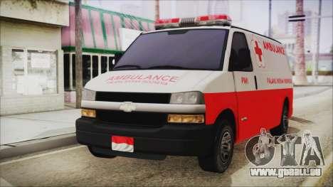 Indonesian PMI Ambulance für GTA San Andreas