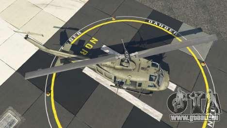 GTA 5 Bell UH-1D Iroquois Huey quatrième capture d'écran