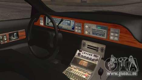 Chevrolet Caprice Station Wagon 1993-1996 LSPD pour GTA San Andreas vue de droite