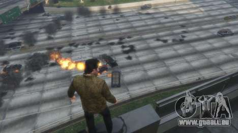 GTA 5 Heat vision Superman 1.1 dritten Screenshot