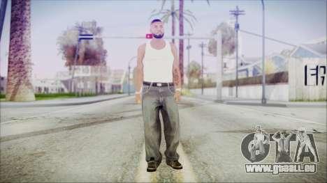 GTA 5 Grove Gang Member 3 pour GTA San Andreas deuxième écran