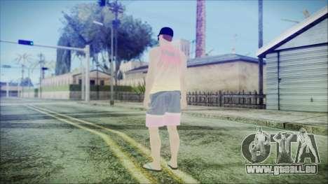 GTA Online Skin 31 pour GTA San Andreas troisième écran