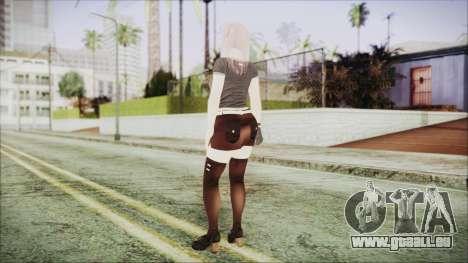DoA Kokoro 2 pour GTA San Andreas troisième écran