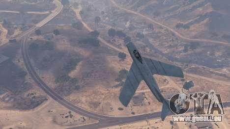 GTA 5 Die MiG-15 Siebter Screenshot